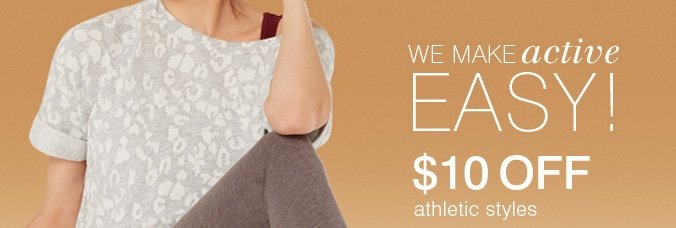Click here to shop athletic.