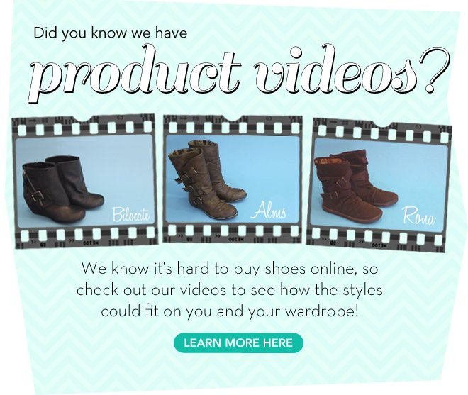 Did you know we have product videos?
