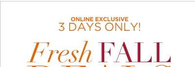 Shop new fall deals!