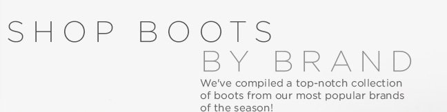 Shop Boots by Brand
