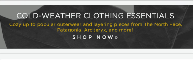 Shop Cold-Weather Essentials