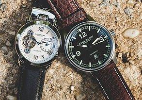 Shop The Essentials Leather Strap Watch