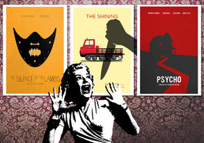 Shop Pop-Culture Posters ft. Scary Movies