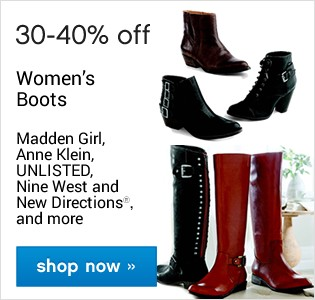 30-40% pff Women's Boots. Shop now.