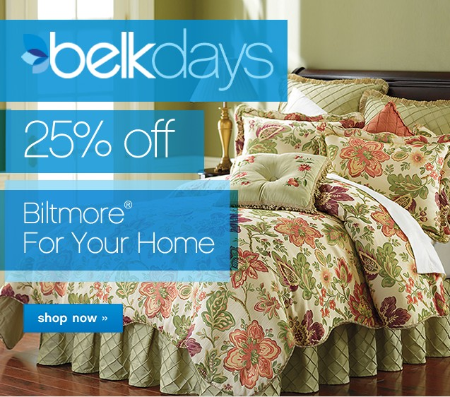 25% off Biltmore For Your Home. Shop now.
