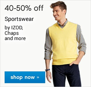 40-50% off Sportswear. Shop now
