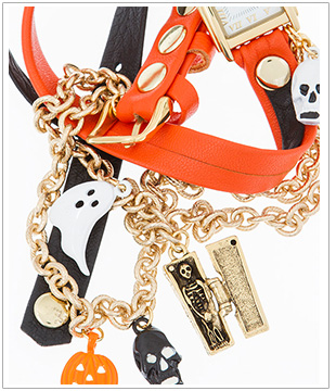 Halloween Charms Wrap Watch