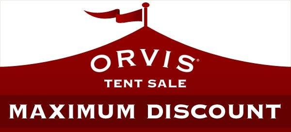 Orvis Tent Sale | MAXIMUM DISCOUNT