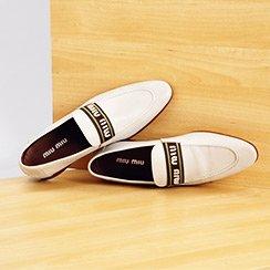 Men's Designer Footwear ft. Prada, Miu Miu & More