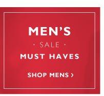 Men's sale must haves