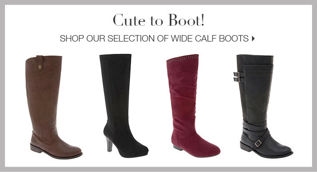 Shop our selection of wide calf boots