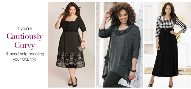 Shop our cautiously curvy collection