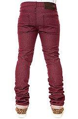 The Skinny Guy Jeans in Burgundy Stretch