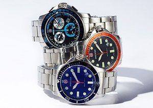 Man of Steel: Watches