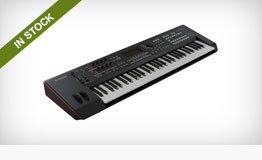 Yamaha MOXF6 and MOXF8 Keyboard Workstations