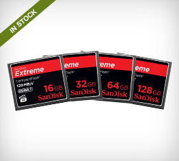 SanDisk Extreme CompactFlash Memory Cards