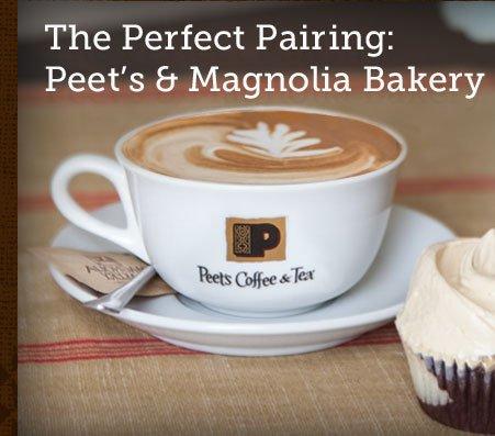 The Perfect Pairing: Peet's & Magnolia Bakery