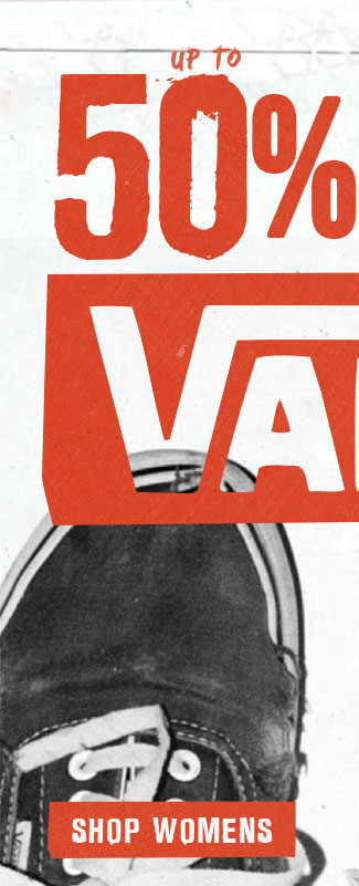 Womens Vans Sale
