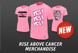 Rise Above Cancer Merchandise