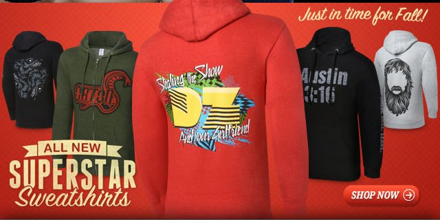 New for Fall – Superstar Sweatshirts