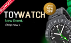 Toy Watch flash sale