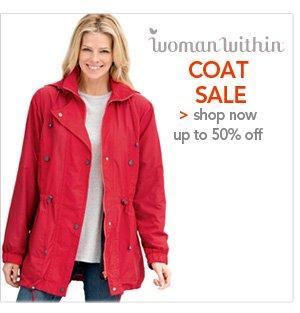 Shop Woman Within Coat Sale