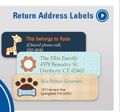 Return Address Labels - Order Now