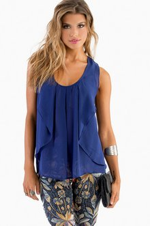 BRIDGETTE SCOOP NECK TOP 30