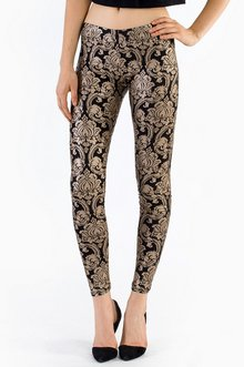 GO FOR BROCADE LEGGINGS 23