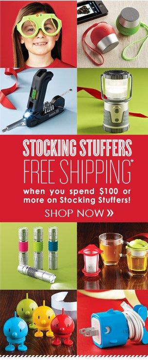 FREE  SHIPPING on Stocking Stuffers* »