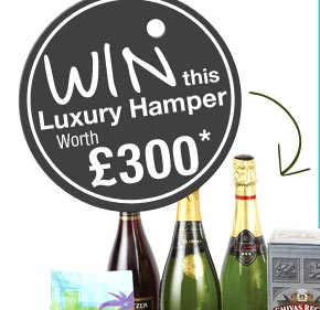 Win this Luxury Hamper worth £300*