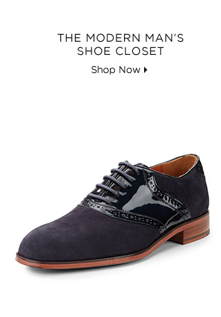 The Modern Man's Shoe Closet
