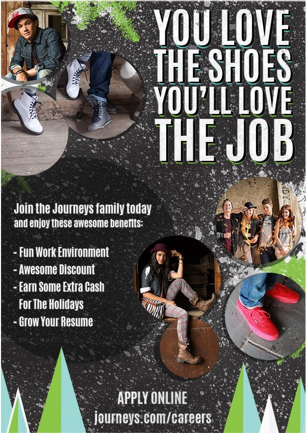 Join the Journeys Family today!