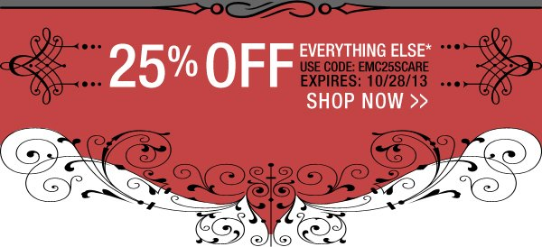 25% Off on Everything Else
