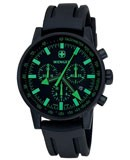Wenger 70891 Men's Swiss Made Chronograph Rubber Strap Watch