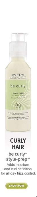 curly hair: be curly style prep. shop now.