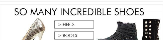 Heels adn Boots