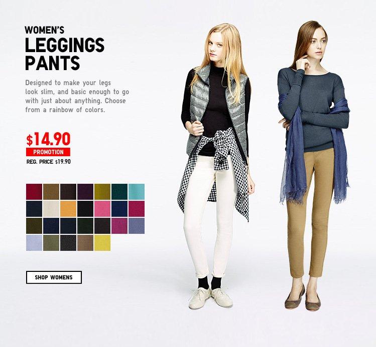 WOMEN'S LEGGINGS PANTS