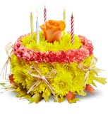 Birthday Surprise them with our signature Birthday Flower Cake® for Fall, served up fresh for the season!