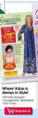 New Catalog, Essentials... Shop from home!