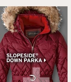 Shop Women's Slope Side Down Parka
