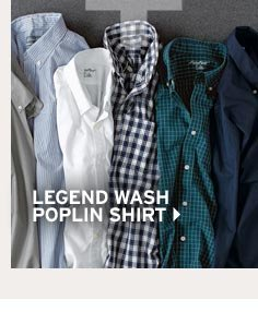 Shop Men's Legend Wash Poplin Shirt