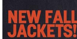 new fall jackets!