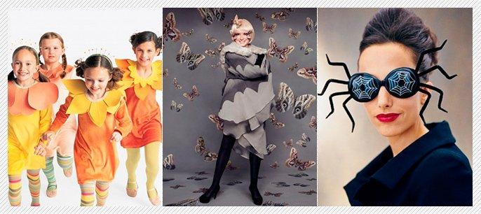 Martha Stewart's Homemade DIY Costumes for Kids.