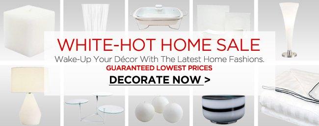 White Home Sale