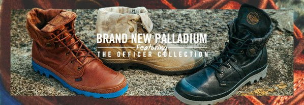 Shop Palladium: NEW Officer Collection
