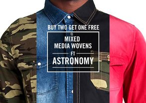 Shop Mixed Media Wovens ft. Astronomy