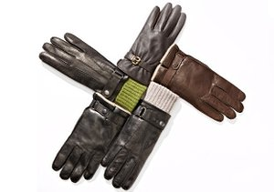 Leather Gloves by Portolano