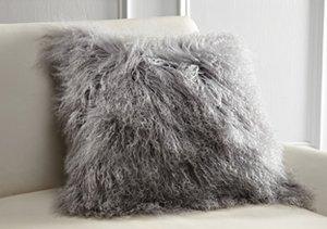 Pure Comfort: Mongolian Lamb Pillows