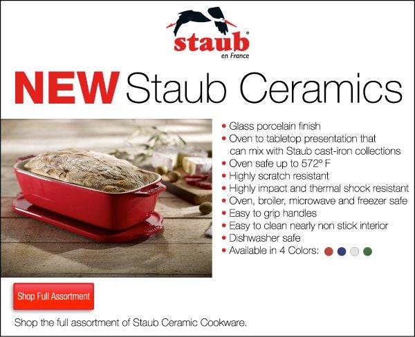NEW Staub Ceramics
